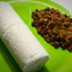 puttu with kadalai curry