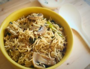 mushroom biryani, veg biryani, south indian biryani, biryani,veg biryani,vegetable biryani,chicken biryani,veg biriyani,vegetable biriyani
