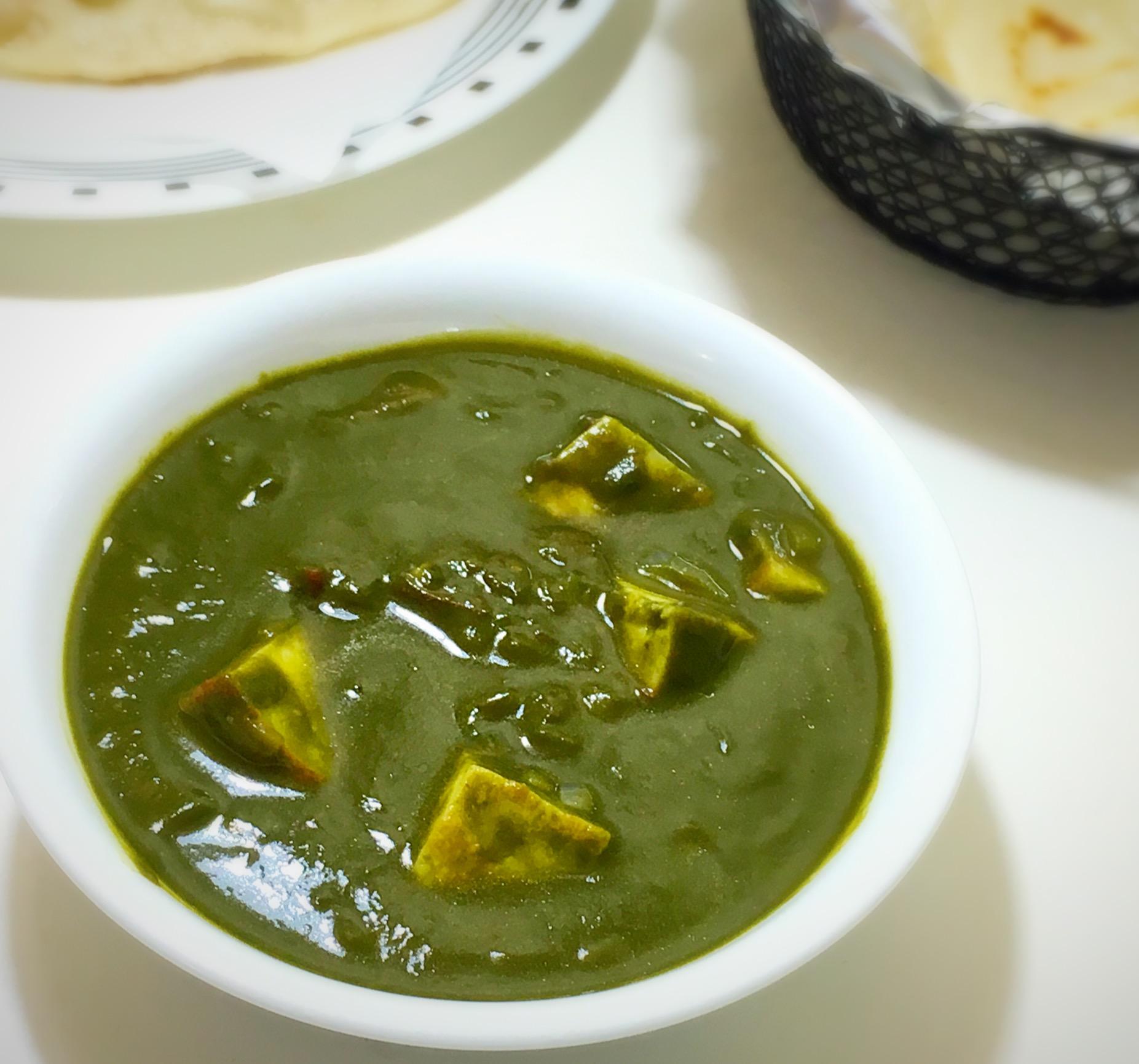 naan, palak paneer,paneer, spinach, palak, garlic naan, paneer gravy, paneer, paneer curry, tava naan, spinach gravy, tava naan, spinach curry,