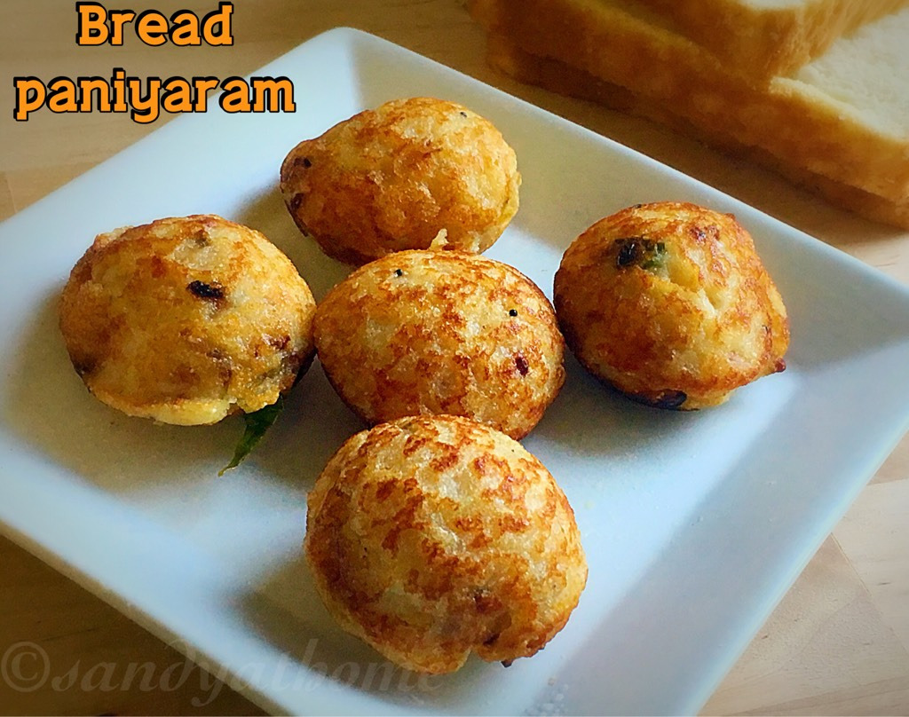 bread paniyaram