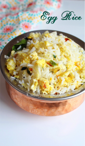 egg rice, guddu rice