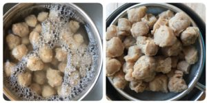 soya chunks preparation,soya chunks cooking with step by step images,soya briyani,how to cook soya chunk