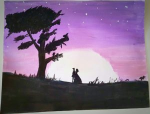 sandhya riyaz's painting