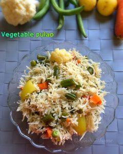 veg pulao