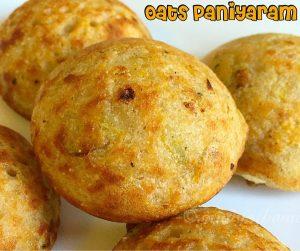 oats paniyaram