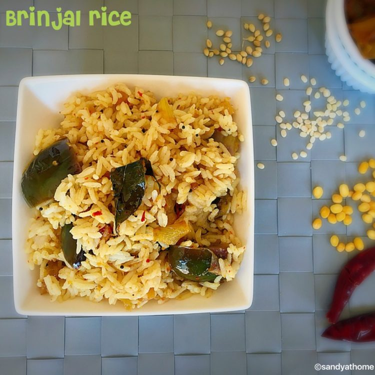 Easy Lunch Recipeseasy Dinner Recipessouth Indian Recipeskathirikai Sadam