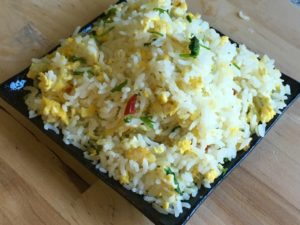 egg rice recipe