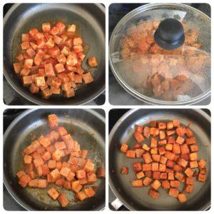 Karunai kizhangu roast,Karunai kizhangu masala fry,senai kilangu chops,Elephant yam roast,karunai kizhangu masiyal,karunai kilangu poriyal,karunai kizhangu poriyal in tamil