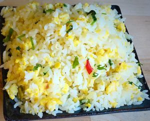 egg rice recipe
