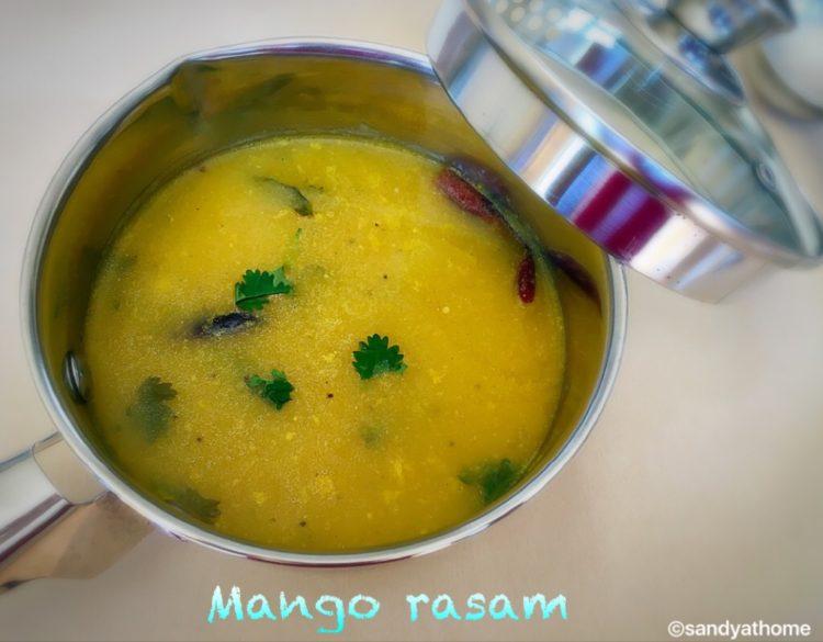 mango rasam,mango charu,mamadikaya charu,ripe mango charu,ripe mango rasam,mango soup,mango puree,charu,rasam,fruit soup,fruit charu,fruit rasam