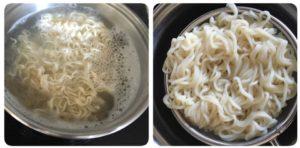 Vegetable noodles,vegetable hakka noodles,noodles,quick noodles,hakka noodles,easy noodles,egg noodles,veg noodles,noodles tossed in veggies,veg noodles,quick noodles,instant noodles,spring onion garnish,fried rice,veg noodles,noodles with step by step images,indian style noodles
