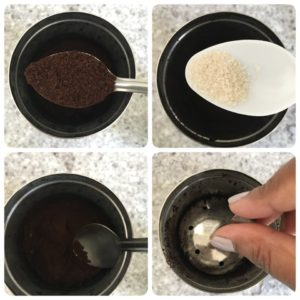 filter coffee,south indian filter coffee,how to prepare filter coffee at home,south indian filter coffee recipe,how to make coffee decoction without filter,how to make thick filter coffee decoction,filter kaapi,how to make narasus filter coffee,madras filter coffee,kumbakonam degree coffee