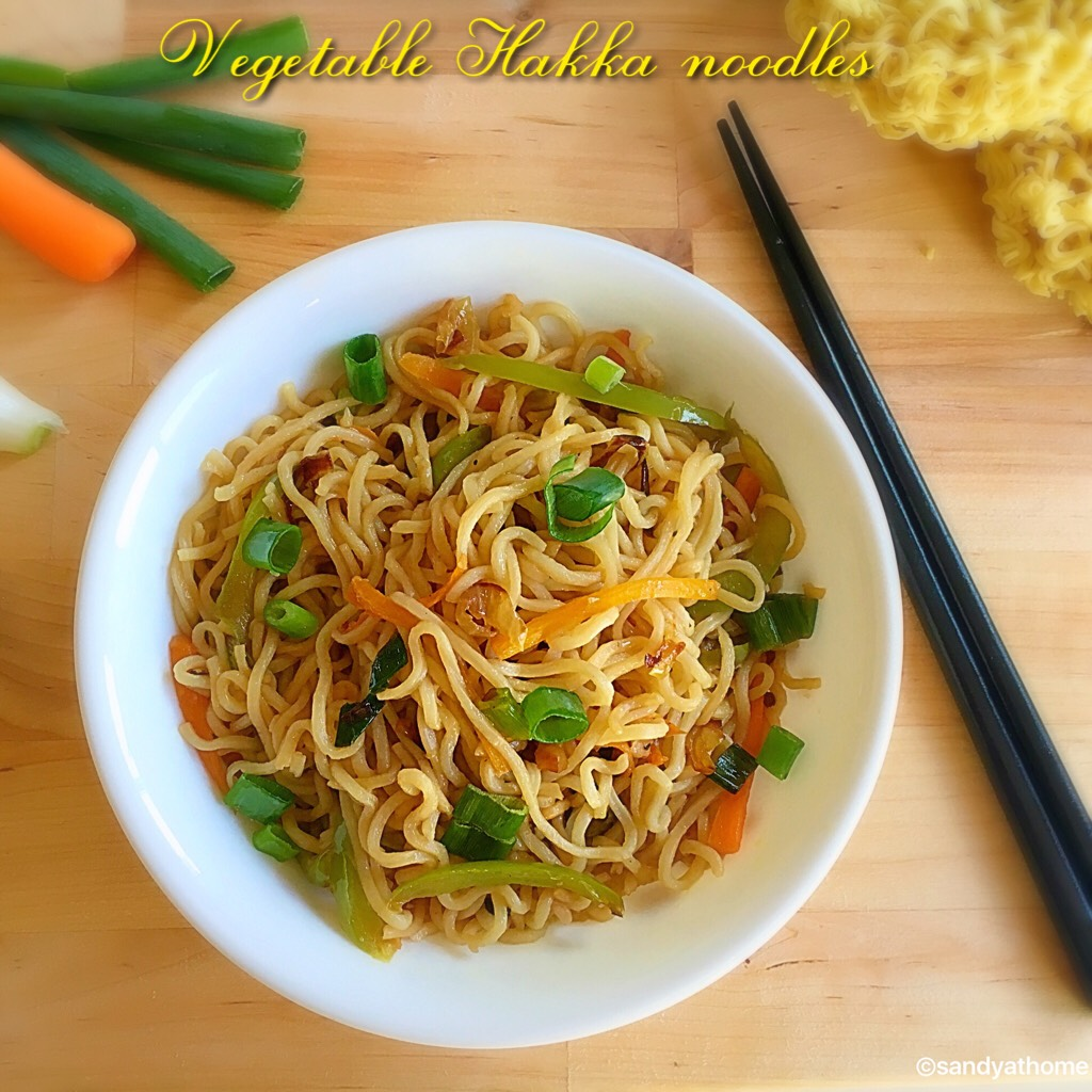 Vegetable noodles,vegetable hakka noodles,noodles,quick noodles,hakka noodles,easy noodles,egg noodles,veg noodles,noodles tossed in veggies,veg noodles,quick noodles,instant noodles,spring onion garnish,fried rice,veg noodles,noodles with step by step images,indian style noodles