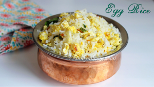 guddu rice, egg rice