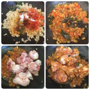 chicken masala dry