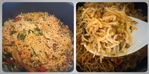 Spouted moong biryani recipe