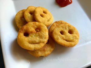 Potato whole wheat smiley