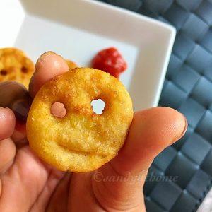 Potato whole wheat smiley
