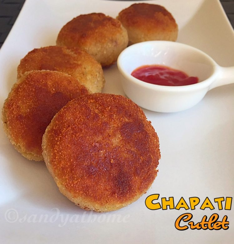 Chapati cutlet