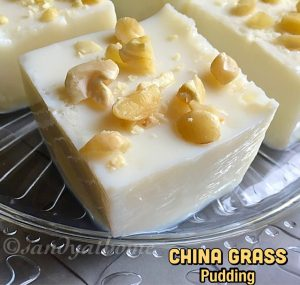 China grass pudding
