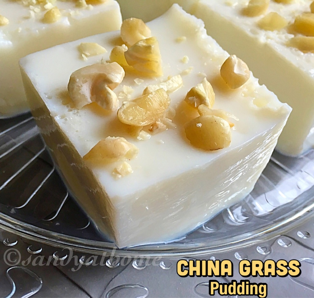 China grass pudding