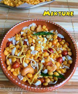mixture snacks