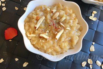oats halwa