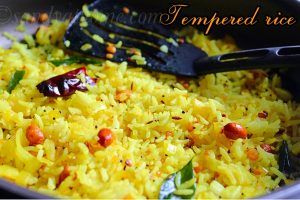 tempered rice