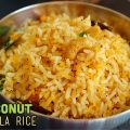 Coconut masala rice
