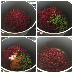 Beetroot poriyal