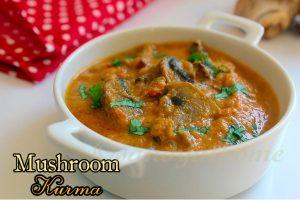 Mushroom kurma