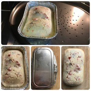 Eggless rava fruit cake