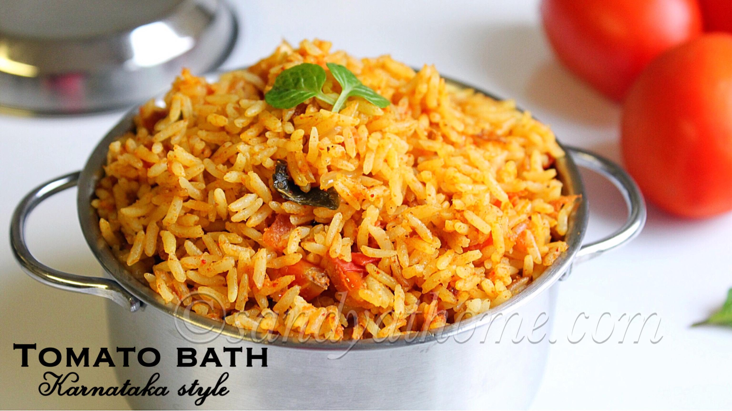 tomato bath