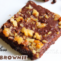 eggless fudgy brownie