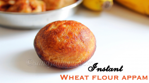 wheat flour appam