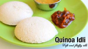 quinoa Idli