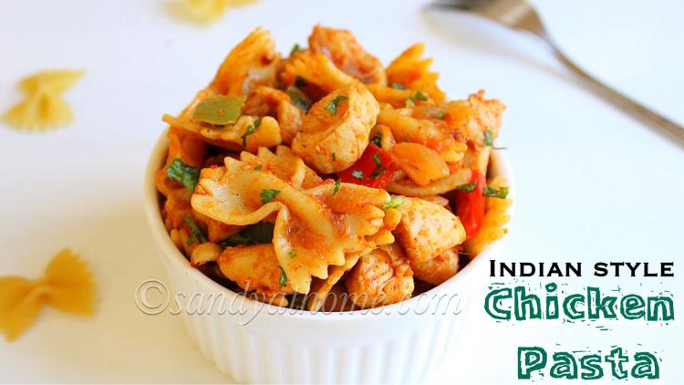 Chicken pasta recipe chicken masala pasta indian style chicken chicken pasta recipe chicken masala pasta indian style chicken pasta recipe forumfinder Image collections