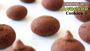 chocolate avocado cookie