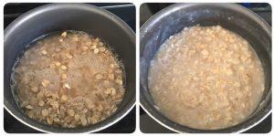 oats curd bath