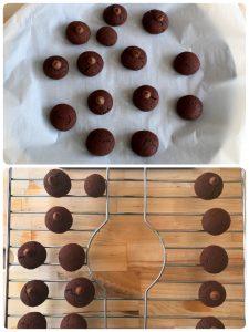 chocolate avocado cookie