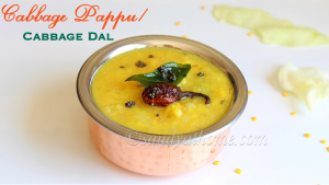 cabbage dal