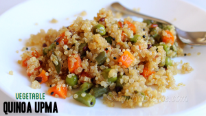 vegetable quinoa upma