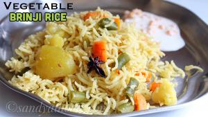 vegetable brinji