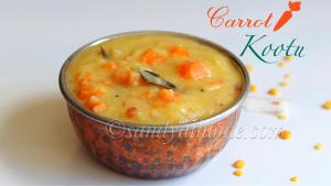 carrot kootu