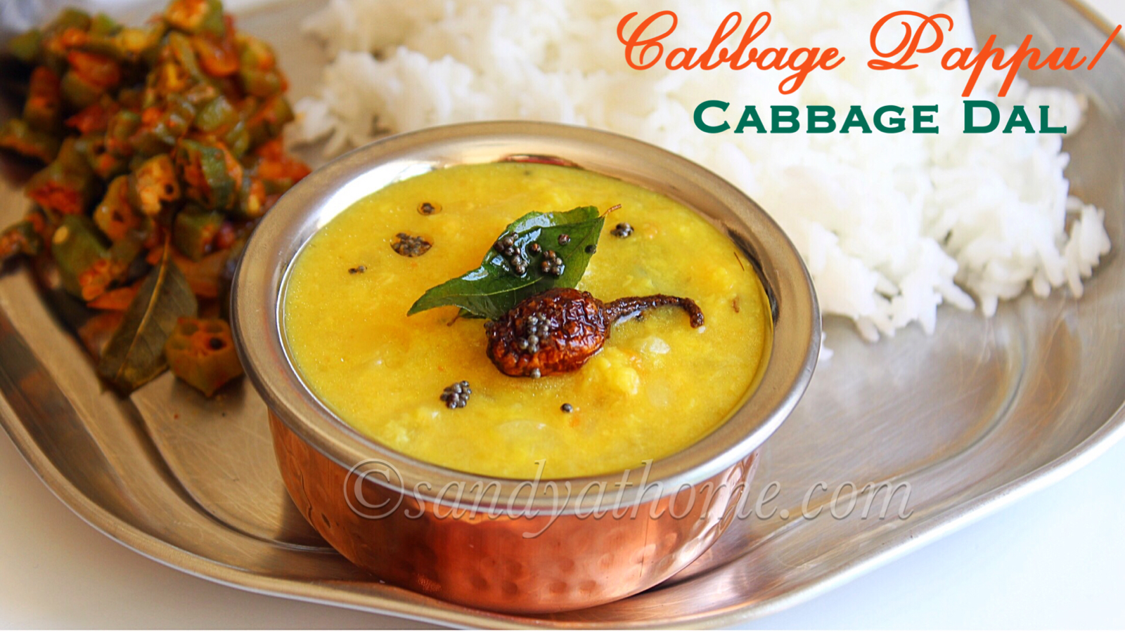 Cabbage Pappu Recipe Cabbage Dal How To Make Cabbage Pappu Sandhya S Recipes