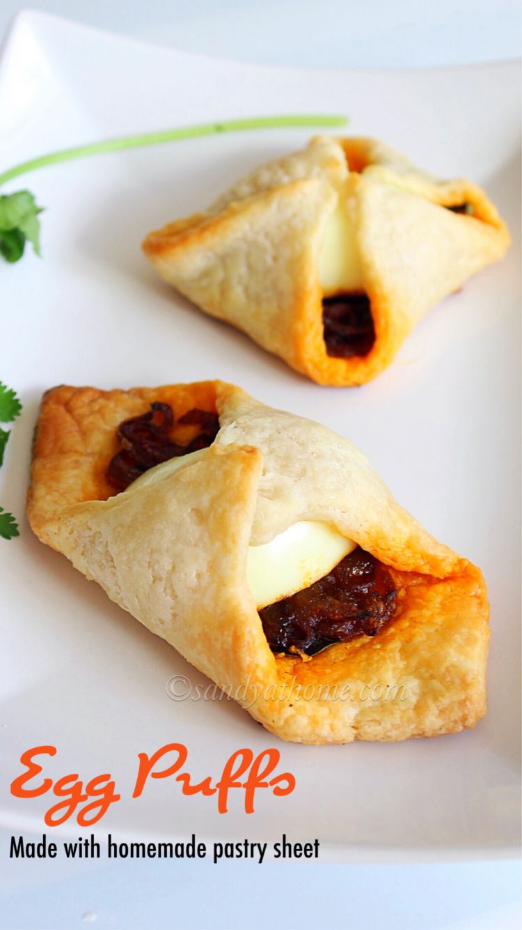 How to make puff using pastry sheets