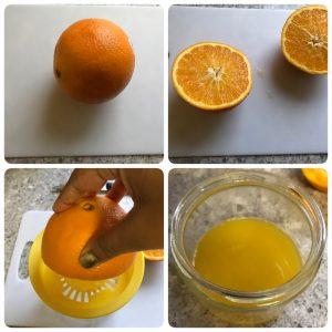 orange pilaf