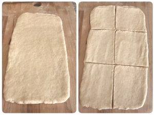 homemade puff pastry sheets