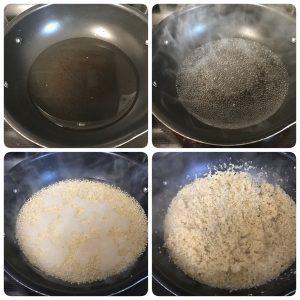 quinoa lemon pulihora