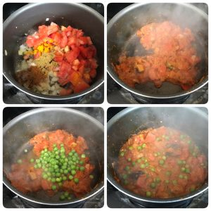tomato pulao